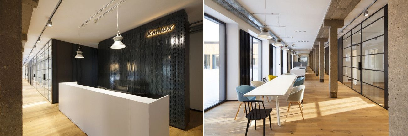 Oak Designer in Kanlux office