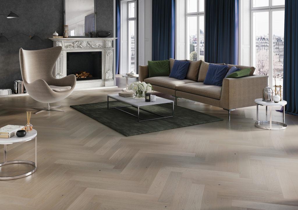 Grey Engineered Wood Flooring Grey Floor Panels Barlinek